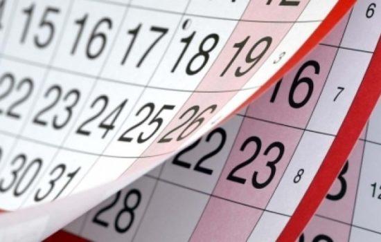 Calendarul sărbătorilor legale: 15 zile libere în 2019